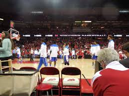 Wisconsin Badgers Basketball Seating Chart Kohl Center Interactive Seating Chart