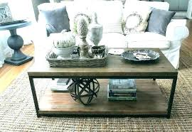coffee table serving tray large decorative avalon coffee table storage ottoman with 4 serving trays