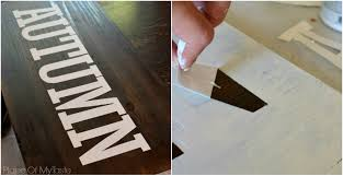 this is what you should have your wood panel look like after you led off the vinyl letters