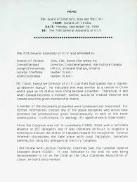 Memo To Board Of Directors Memo Re The 100th General Assembly of OIV 100 6