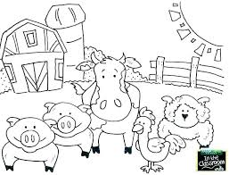 Valuable Inspiration Free Printable Coloring Pages Farm Animals