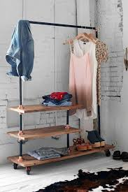 Home Outfitters Coat Rack Interesting 32 Clothes Racks For Homes With No Closet Space DigsDigs
