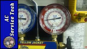 Tutorial On How To Use And Read A Refrigerant Gauge Set