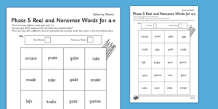 Take a look at this split digraph powerpoint, a great addition to your lesson. Phase 5 A E Split Digraph Color By Phoneme Real And Nonsense Words