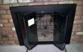 fireplace replacement doors. Fireplace Doors Glass Installation Video . Replacement E