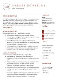 Skill Set Template Marketing Resume Sample Writing Tips Resume Genius