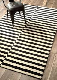 black and white striped rug. black and cream striped rug rugs ideas white