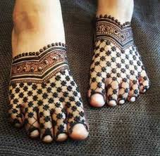 Feet Design 30 Mind Blowing Leg And Foot Mehndi Designs For Brides