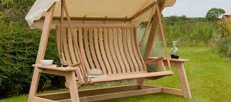 Outdoor Garden Swing Seats Bench Buy Online Roofed 2 Seater
