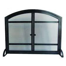 harper 1 panel fireplace screen with doors