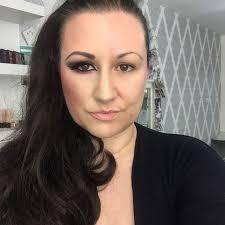 asian half face makeup design