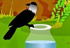 Image result for the thirsty crow