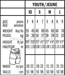33 Reasonable Hockey Pants Sizing Chart