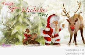 background happy st nicholas day 2017 wishes
