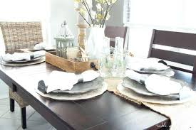 Decoration Dining Room Table Settings Home Design Setting Ideas Enchanting Dining Room Table Settings Decoration