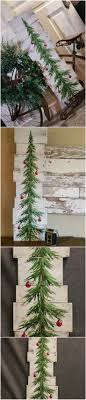 pallet painting ideas christmas. white washed, red bulbs, christmas pine tree reclaimed wood pallet art, hand painting ideas