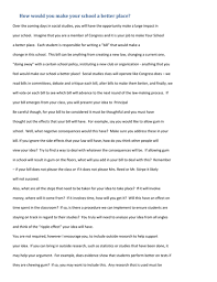 student bill essay how to make your school a better place by student bill essay how to make your school a better place by tmccord1986 teaching resources tes