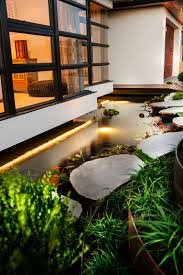 Fish pond at the Azumi by Webb \u0026 Brown-Neaves   Alfresco\u0027s and ...