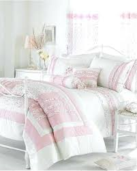 pink ruffle bedding white cream pink ruffle bedding duvet cover or bedspread quilt or curtains pink pink ruffle bedding