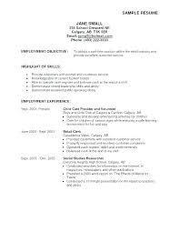 Resume Objective For Retail Fascinating resume objectives retail objective for retail resume retail resume