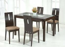 great round dining room table sets also fresh glass top dining tables with wood base golden