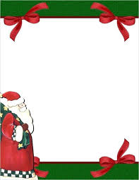 Free Stationery Templates 1 Com Template Downloads Christmas