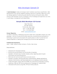 web developer resume website web developer resume samples sample of web developer resume web developer sample cv by sayeds
