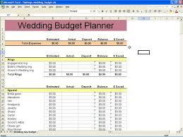 Sample Wedding Budget Spreadsheet Sample Wedding Budget Worksheet Sample Wedding Budget