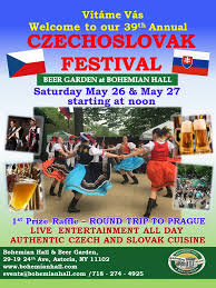 39th annual czechoslovak festival