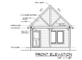 Cabin With a Loft Plan from Cabin Plans 123