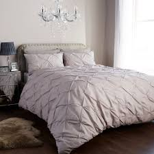 details about diamond pintuck duvet cover set with pillow cases luxury bed linen quilt sets