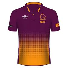 Cricket Shirts Design 2019 Brisbane Broncos 2019 Sublimated Polo