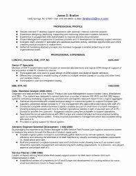 Resume Templates Format Experienced Technical Support Engineer