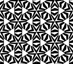 pillow texture seamless. Vector Modern Seamless Sacred Geometry Pattern, Black And White Abstract Geometric Background, Pillow Print Texture