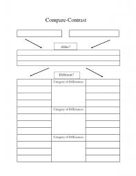 high school compare contrast essay graphic organizer compare   high school compare contrast essay examples high school comparison contrast compare contrast essay