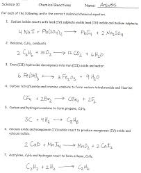 more word equations worksheet new more word equations worksheet new writing word equations chemistry