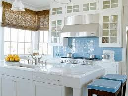 White Kitchen Granite Countertops White Wooden Color Kitchen Cabinets Undermount Kitchen Sink Mosaic