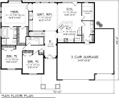 fresh house plans with 3 car garage for 3 bedroom 3 car garage ranch house plans