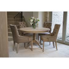 neptune henley 120cm round pedestal oak table
