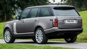 Land Rover Discovery 4 Colour Chart 2020 Range Rover Arrives In The U S With Straight Six Engine