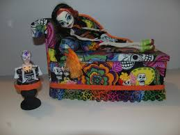 Furniture for Monster High Dolls Handmade Day of the Dead