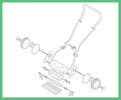 lawnmower drawing. lawn mower exploded view lawnmower drawing