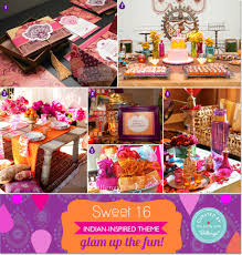 Indian Inspired Decorating Up The Fun Its A Bollywood Inspired Sweet 16 Soiree