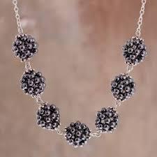 sterling silver hematite cer
