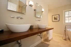 bathroom inspiration marvelous white ceramic floor tiled with grey cement concrete rectangle trough bathroom sink