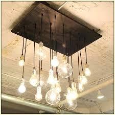 edison light chandelier canada