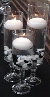Black/White Centerpiece Ideas : wedding blackwhite 1 budget centerpiece diy  DSC02603 Large Crop 0.29