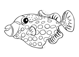 Coloriamo I Pesci Uffolo Con Disegni Di Pesci Da Colorare E Pesce