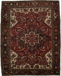 geometric decorative s antique heriz persian rug oriental area carpet 8 4x10 6