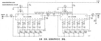 channel graphic equalizer by transistor circuit diagram 5 channel graphic equalizer by transistor circuit diagram 10 channels graphic equalizer 5 channel
